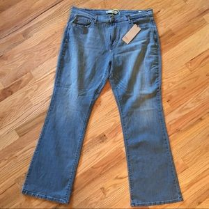 NWT Levi's 515 light wash bootcut jeans size 16